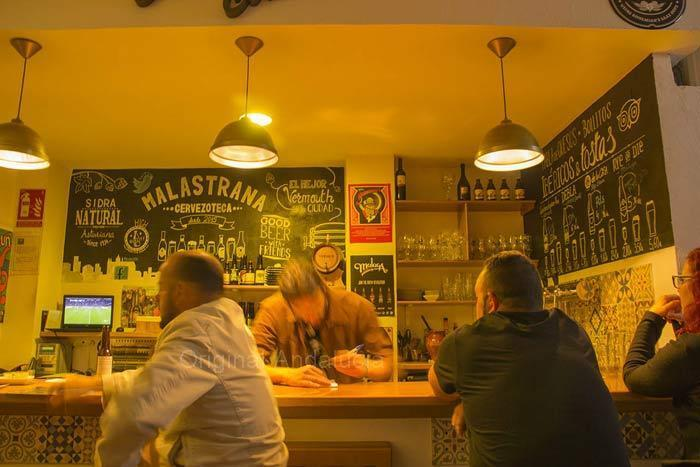 malastrana craft bier cafe in Ronda